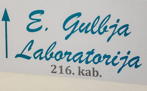 В помещениях «Saules veselības centrs» работает приемной пункт анализов E.Gulbja лабораторий